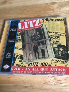 Blitz - An All Out Attack (1999)  NEW SEALED PUNK CD