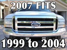 2005 FORD F-250 F550 GRILLE GRILL CONVERSION FITS 99-04 NO rusty China Clips!!
