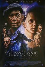 THE SHAWSHANK REDEMPTION org DS movie poster 10th Anniversary Drew Struzan art