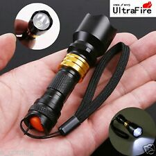 Mini CREE Q5 LED Flashlight Torch Waterproof Aluminum Lamp Light Camping Hiking