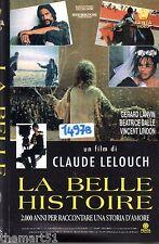 La Belle Histoire (1992) VHS Penta  1a Ed.   Lelouch  Beatrice Dalle - UNICA