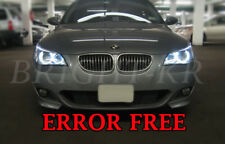 BMW 5 serie E60 E61 pre-LCi Angel Eye Halo Anillo de luz LED Bombillas-Blanco Puro
