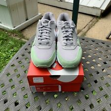 Nike Air Max 1 Fresh Mint Green Grey Running Shoes AH8145-015 Men's Size 10