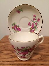 Marlborough Tea Cup & Saucer Bone China