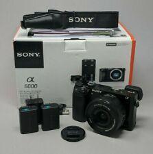 Sony Alpha A6000 24.3MP Digital Camerawith 16-50mm Lens - 19K Clicks!