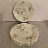 """Vintage Theodore Haviland Limoges France Plates 7.5"""" diameter salad dessert size"""