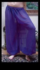 Harem Pants Belly Dance Chiffon Purple