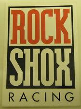 ROCK SHOX RACING Decal  70mm x 100mm Red/Black/White