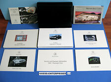 01 2001 Mercedes S S430 S500 S55 S600 Owners Manuals + Navigation Books Set G113