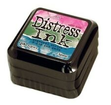 Tim Holtz Summer Distress Ink Pads Raspberry, Mowed Lawn and Salty Ocean *