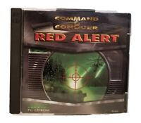 COMMAND & CONQUER RED ALERT PC WINDOWS 95 DOS CD-ROM ~ 2 DISC SET