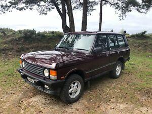 1994 Land Rover Range Rover Classic Factory 300TDI Soft Dash