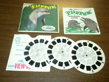 FLIPPER THE TV DOLPHIN (B485) Viewmaster 3 reels PACKET SET