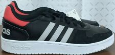 *NEW* Adidas Hoops 2.0 Casual Shoes Black/Gray/Red EE7800, Mens Sz 12