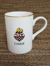 1994 Lynn Chase Designs Crest Wildlife Foundation 24K Gold Trim Rim Mug Cup RARE