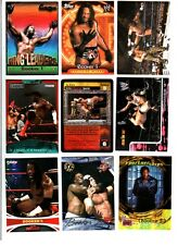 WWE Booker T Wrestling Lot of 9 Trading Cards With Insert & Poster C