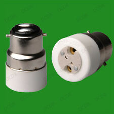 Bayonet BC B22 To MR16 GU5.3 Light Bulb Socket Adaptor Lamp Converter Holder