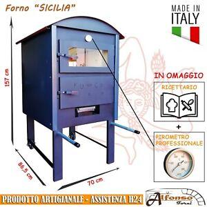 """Forno a legna da esterno o da interno ALFONSO FORNI modello """"SICILIA"""""""