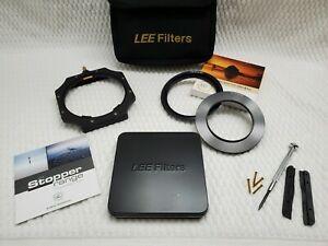 Lee Filter Foundation set 100mm system Plus Big Stopper, 82mm and 67mm Adapters