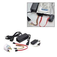 USB 2.0 to IDE SATA S-ATA 2.5 3.5 HD HDD Hard Drive Adapter Converter Cable ZV