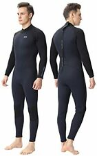 Men Women's Full Wetsuits Thermal Suit Sleeves 3mm Large Inkblue Men/3mm