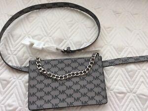 NEW Michael Kors Signature Logo Belt Bag