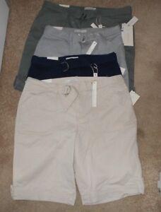 "Gloria Vanderbilt ""Sierra"" Style:60410153US3 ultra twill shorts asst sizes NWT"