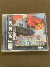 Sony PlayStation PS1 Video Game Battle Stations Chemical X-Traction Rated E