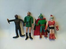 Comic TV Related Figures X4 Various Vintage Makers Unknown