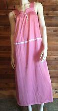 Vintage Texsheen Mauve Size Medium Nightgown #7357