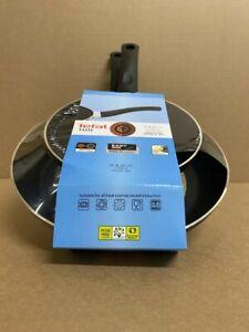 2PC TEFAL NON-STICK ALUMINIUM FRYING PAN SET THERMOSPOT EASY-CLEAN 20cm & 28cm