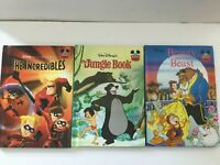 Disney's Wonderful World of Reading Jungle Book Beauty and the Beast Incredibles