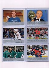 16-17 SP AUTHENTIC COMPLETE AUTHENTIC MOMENTS SET OF 15 CARDS * MATTHEWS MCDAVID