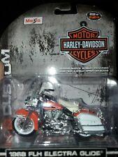 Maisto Harley-Davidson 1968 FLH Electra Glide 1:24 Diecast Motorcycle 35094