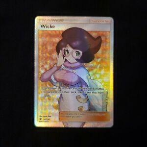 Wicke 147/147 Full Art Trainer From Burning Shadows