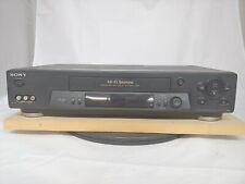 Sony Slv-N71 Vhs Vcr Hi-Fi Stereo 4 Head Vcrplus No Remote
