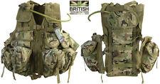 Army Combat Military Tactical Assault Vest Surplus Aqu Bladder Hydration Pack