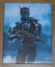 Chappie (blu-ray) Steelbook - Filmarena (Full slip). NEW & SEALED