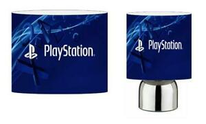 PLAYSTATION PS4 LIGHT SHADE & TOUCH LAMP SET KIDS ROOM
