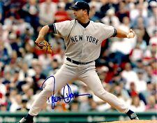 Signed  8x10 DONOVAN OSBORNE  New York Yankees Photo - COA