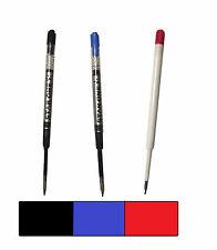 PARKER COMPATIBLE LIQUID GEL INK / REFILL -Ballpoint Pens - BLACK BLUE RED