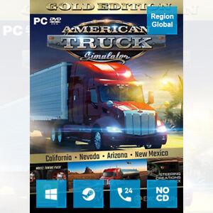 American Truck Simulator Gold Edition for PC Game Steam Key Region Free