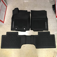 2016-2017 Toyota Tacoma 3PC OEM All Weather Floor Liners Mats PT908-36162-20