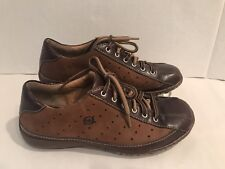 Born Womens Oxfords Casual Shoes US 7 MW EUR 38 Brown Leather M/W WO578 J5