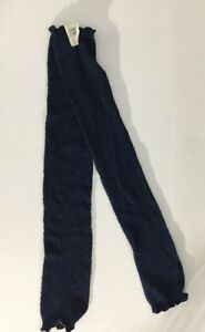 NWT Free People Leg Warmers - Navy Shimmer