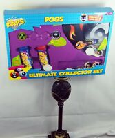 Retro Kaps - Pogs  ULTIMATE Collector Set Game 60 Pogs, 4 Slammers, 2 Tubes, Mat