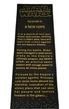 Limited edition Star Wars Title Crawler Rug Carpet runner a new hope