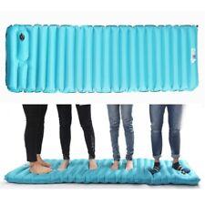 Air Inflatable Sleeping Pad Cushion Thick Mat Mattress Bed Outdoor Camping Mats