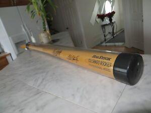 RARE!!! Vintage Andres Galarraga Autographed/Signed Rawlings Engraved Bat