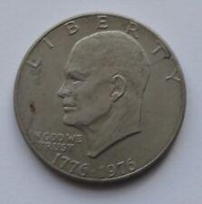 1976 $1 One Dollar Eisenhower USA Silver Dollar Coin
